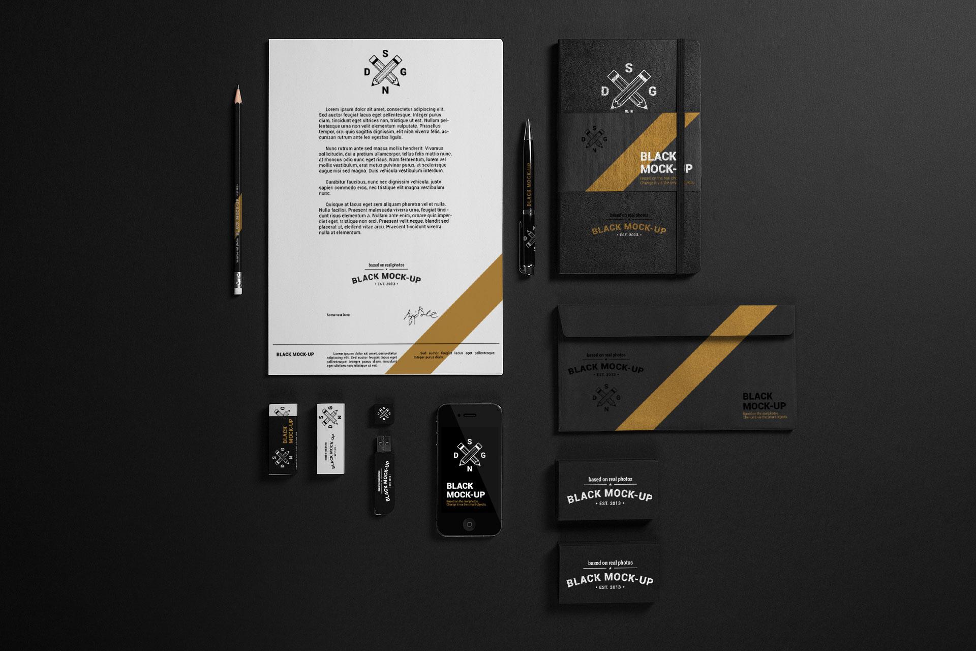 Dark Branding Set 2