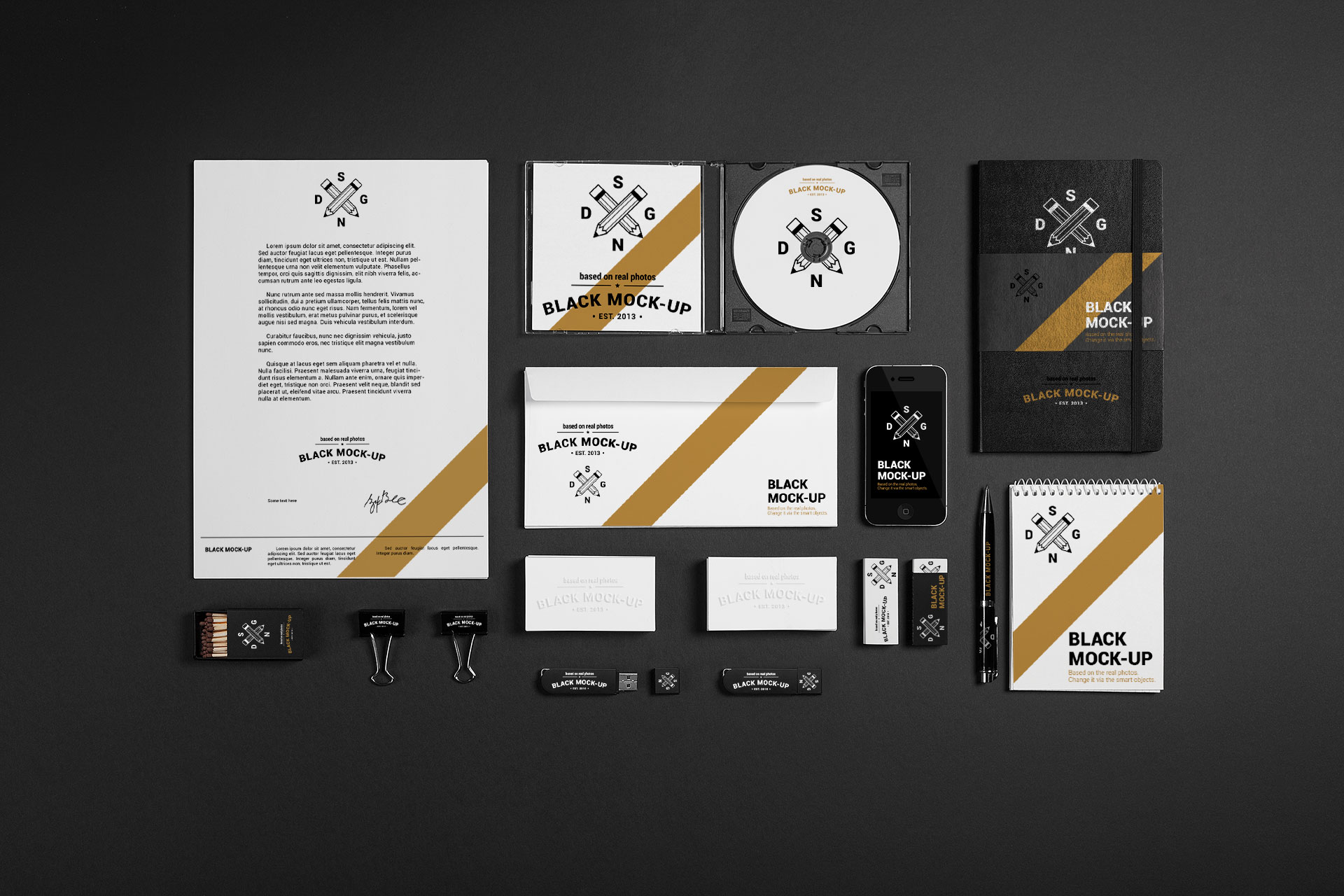 Dark Branding Set 4