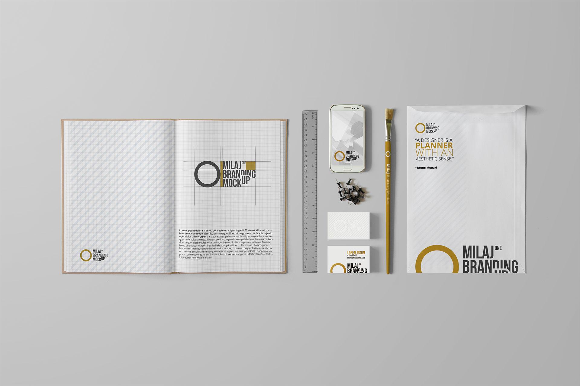 White Branding Set 2
